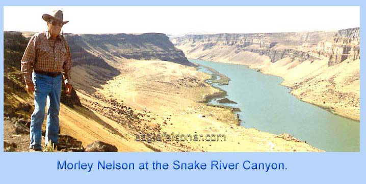 Morlan Nelson at the Snake River