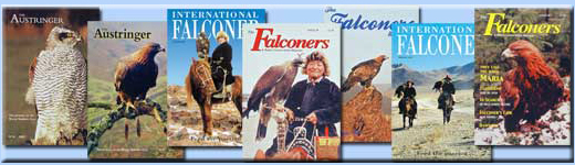 Alan Gates writes Falconry Magazines