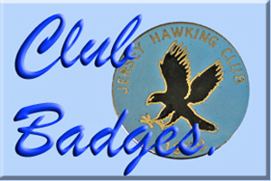 Falconry Club badges at Eaglefalconer.com