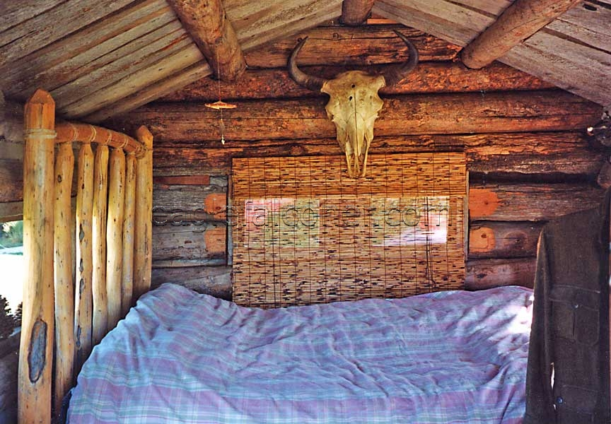 Wild West spare bedroom