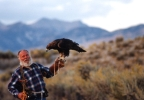 Jack Oar with golden eagle