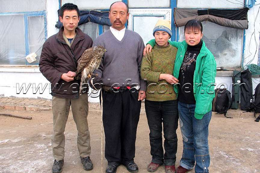 Manchu Falconer family